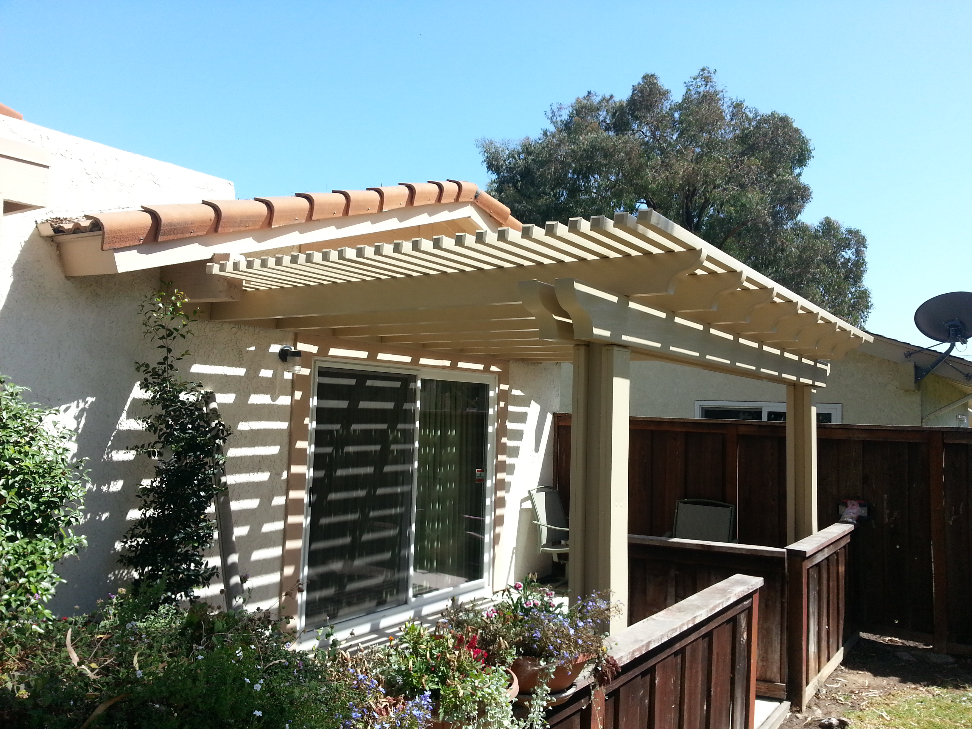 Each Patio Cover Is Made To Order And Usually Takes 1 U2013 3 Dayu0027s To Install.  Our Aluminum Patio Covers Generally Cost Less Than Wood, They Never Rot, ...